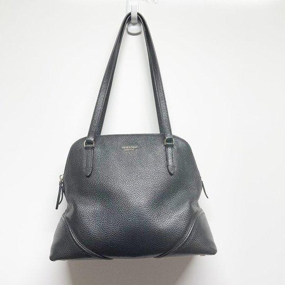 Kate Spade Black Satchel with zipper Pocket